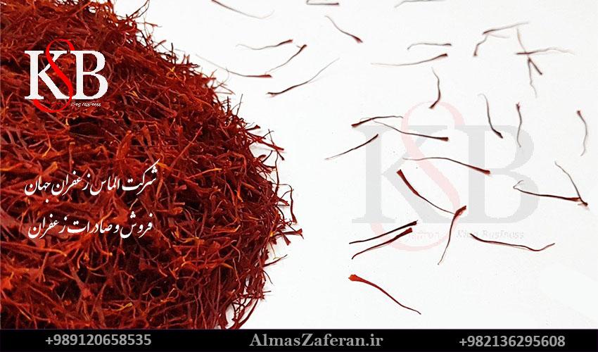 قیمت زعفران نگین در بازار مشهد