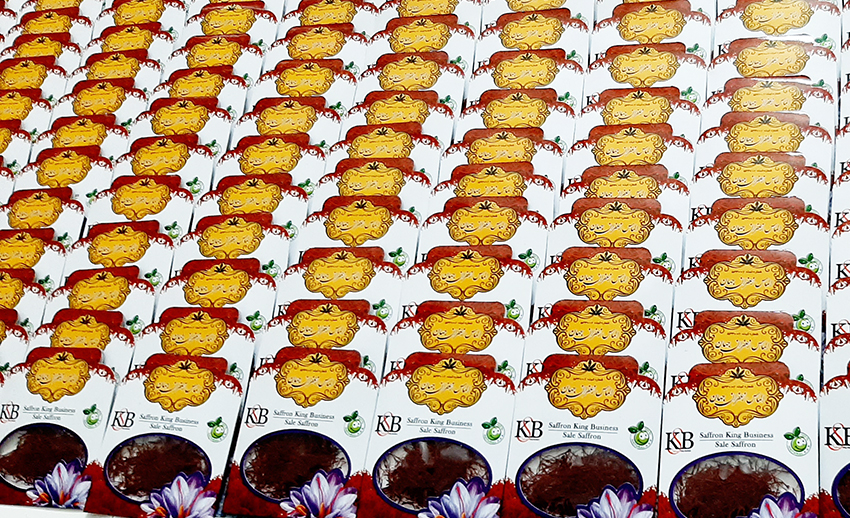 قیمت نهایی زعفران عمده در بازار شیراز